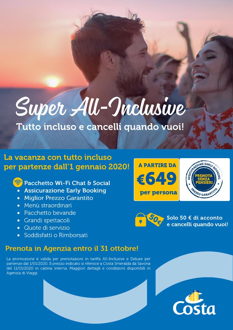 SUPER ALL - INCLUSIVE DI COSTA